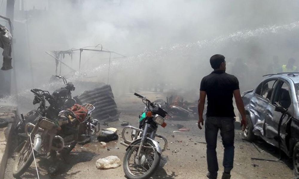Suriye'nin kuzeyinde bombalı saldırı: Ölü ve yaralılar var…