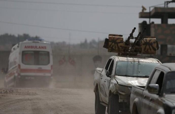 Tel Abyad'da bomba yüklü araç patlatıldı!