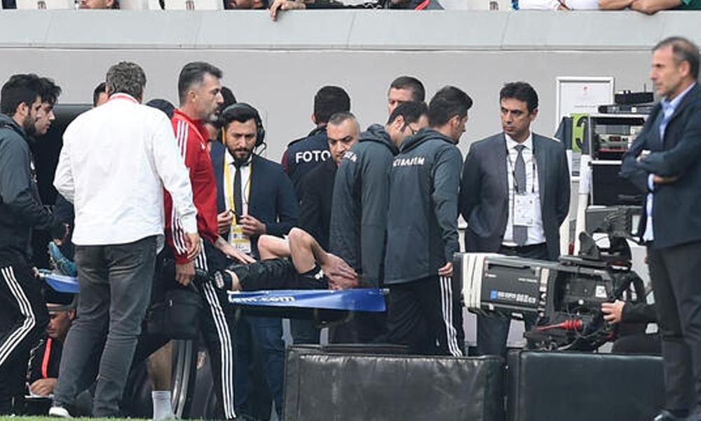 Beşiktaş'ta sakatlık şoku! En az 5 ay yok