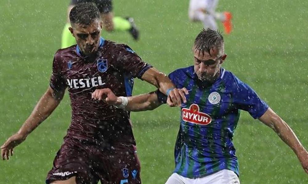 Trabzonspor, galibiyeti 90. dakikada aldı
