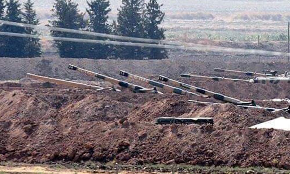 Türkiye Suriye sınırında askeri hareketlilik