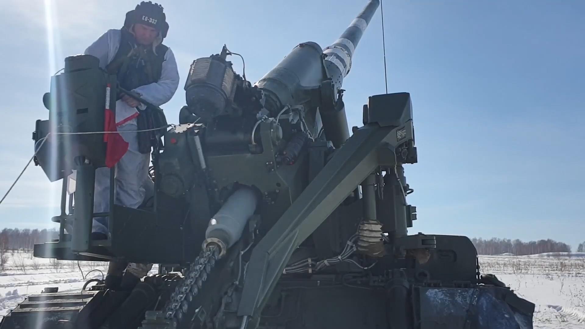 Rusya, Malka adlı topu test etti