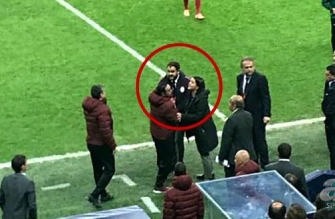 Galatasaray-Club Brugge maçında ortalık karıştı! Fatih Terim ve Hasan Şaş…