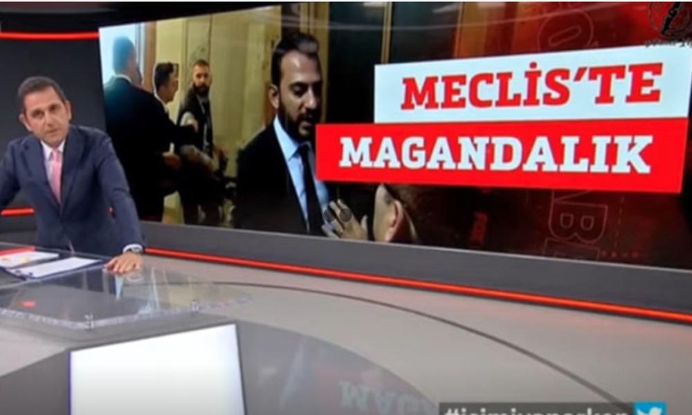 NTV kameramanı tehdit edildi! NTV sustu, Fatih Portakal tepki gösterdi