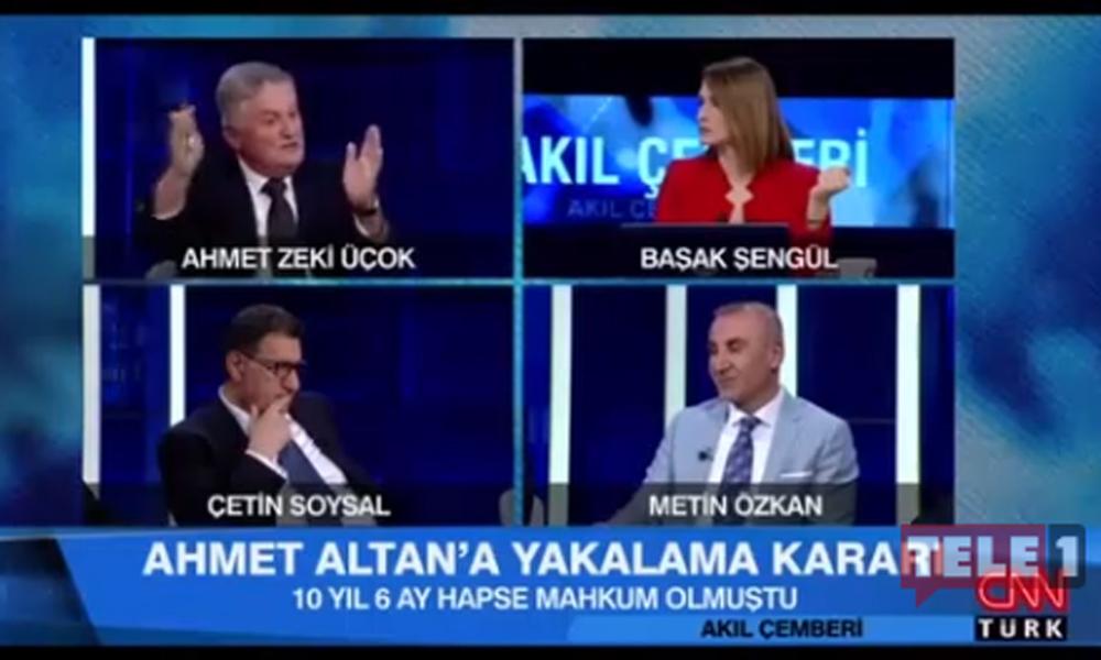 Albay Ahmet Zeki Üçok havuz medyasının canlı yayında böyle isyan etti: Yazıklar olsun… Vallahi billahi yazıklar olsun!