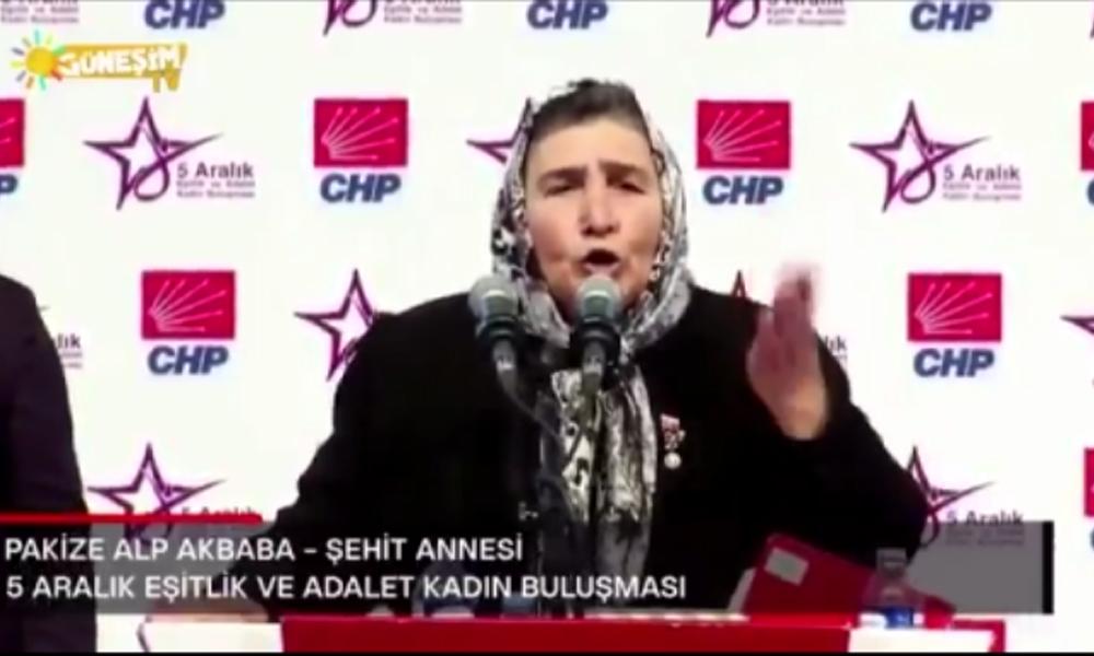 Şehit Anaları Derneği Başkanı 'Pakize Anne' hakim karşısına çıkıyor