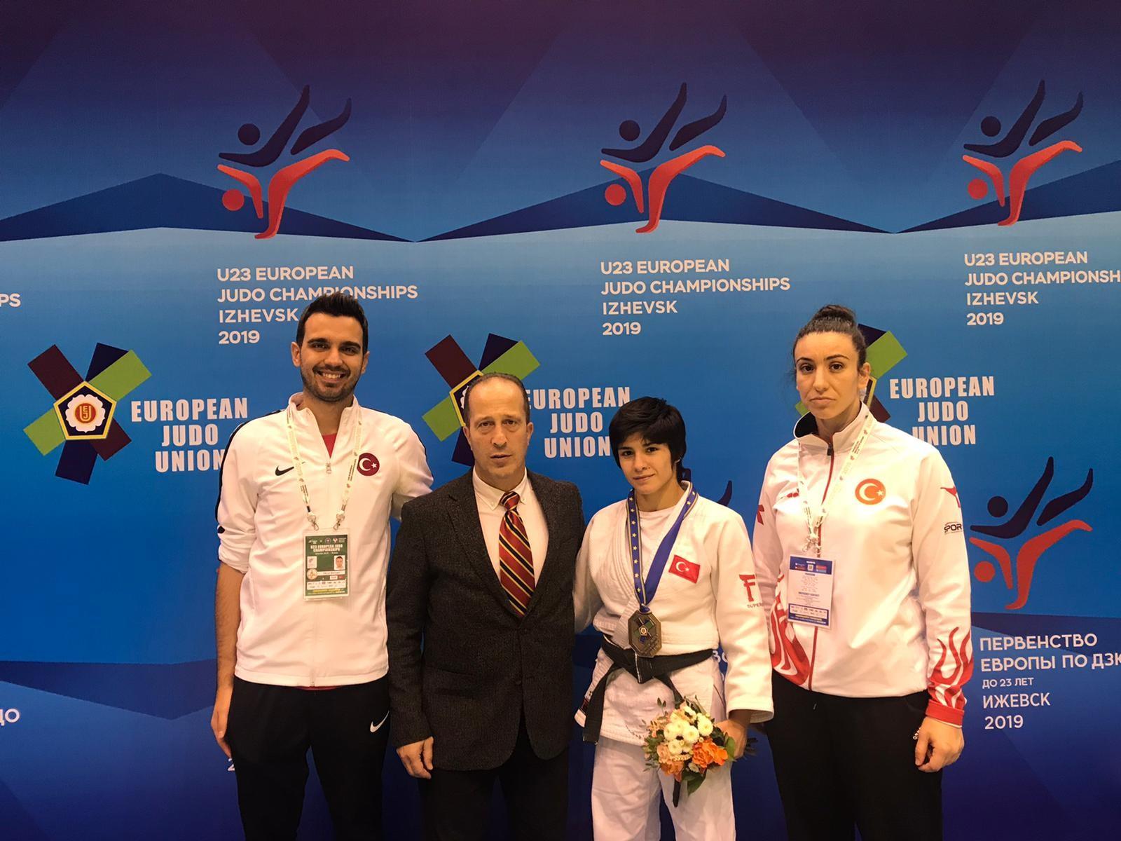 Milli judocu TuğçeBeder'den bronz madalya