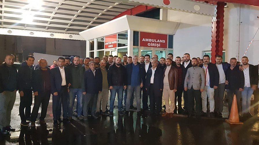 MHP İl Başkanı Tok, trafik kazasında yaralandı