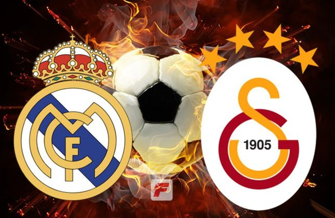 Galatasaray deplasmanda Real madrid ile karşı karşıya gelecek