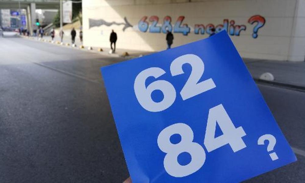 Kadınlar kendilerini koruyan 6284 nolu yasa için sokağa çıktı
