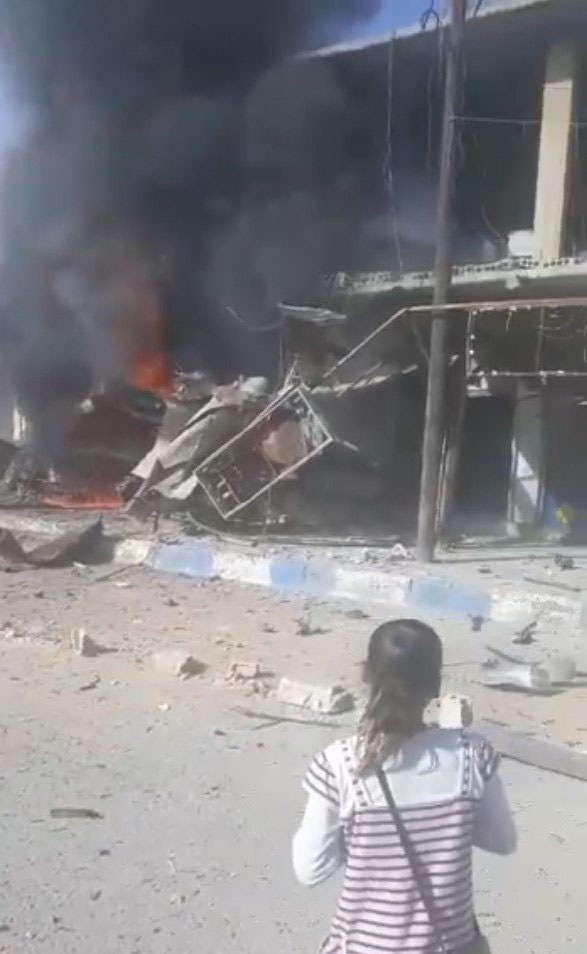 MSB: Tel Abyad'daki saldırıda 8 sivil öldü, 20'den fazla kişi yaralandı