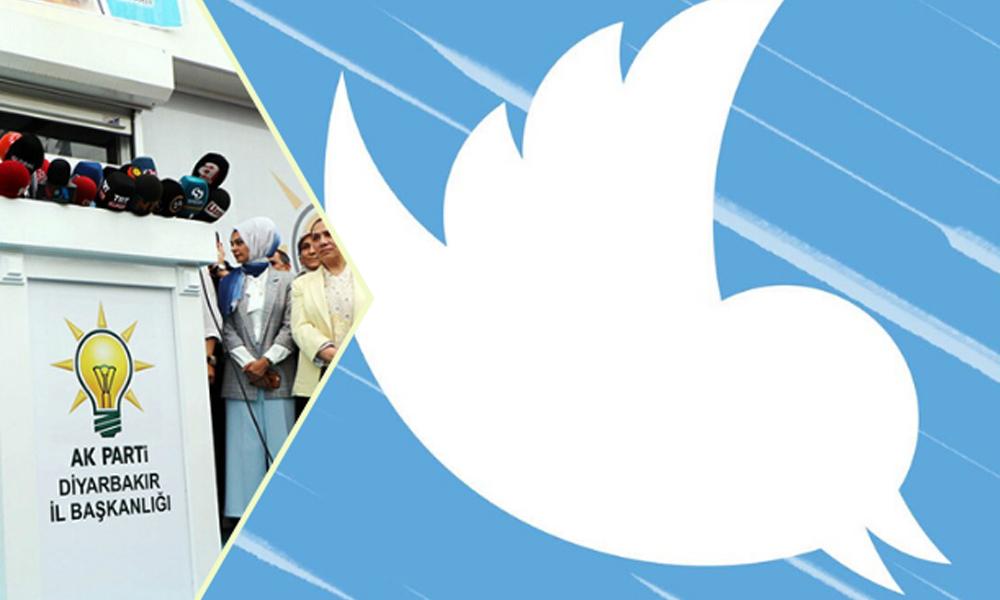 Twitter, AKP'nin Diyarbakır hesabını askıya aldı