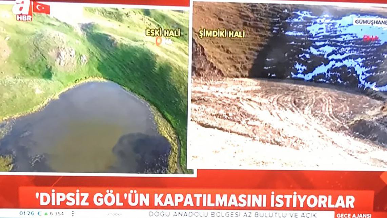 Sinan Oğan'dan yandaş A Haber'in skandal 'Dipsiz Göl' haberine tepki: Siz nasıl…