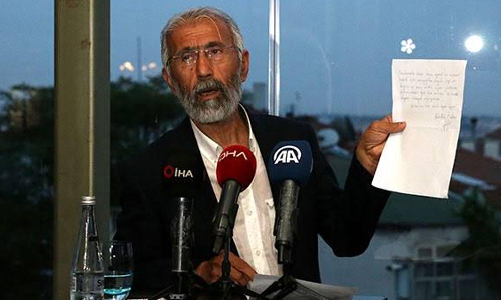 23 Haziran'da Öcalan'ın mektubunu paylaşan Ali Kemal Özcan görevinden alındı