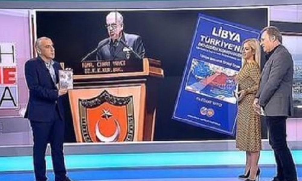 Yunan kanalları bu kitabı konuşuyor! Tümamiral Cihat Yaycı'nın kitabı Yunanistan'da gündem oldu