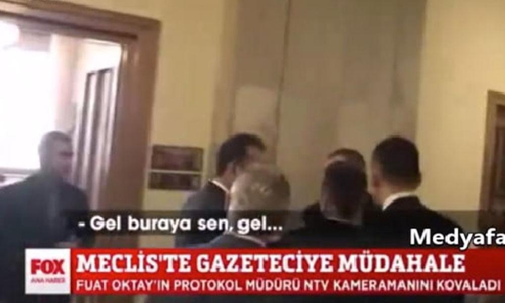 Fuat Oktay'ın NTV kameramanını tehdit ettiği olayda Cezmi Sayılgan'danönemli hatırlatma