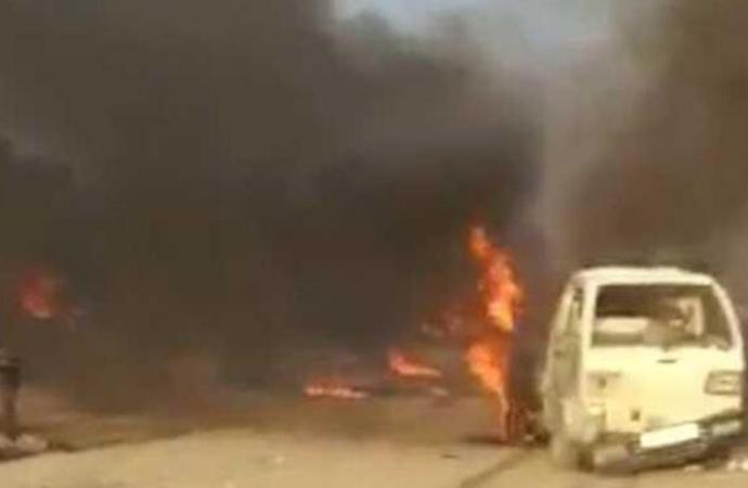 Resulayn'da patlama! 17 ölü, 20'den fazla yaralı…