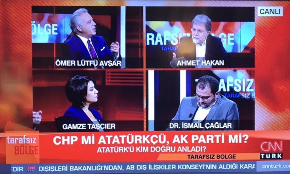 Ahmet Hakan'ın canlı yayındaki tartışma programında sorduğu sorulara deneyimli gazetecilerden 'Yalama' tepkisi