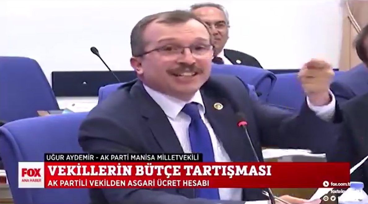 Meclis'te bütçe tartışması… Yumurtacı AKP'li vekil hayat pahalılığıyla kıs kıs gülüp dalga geçti