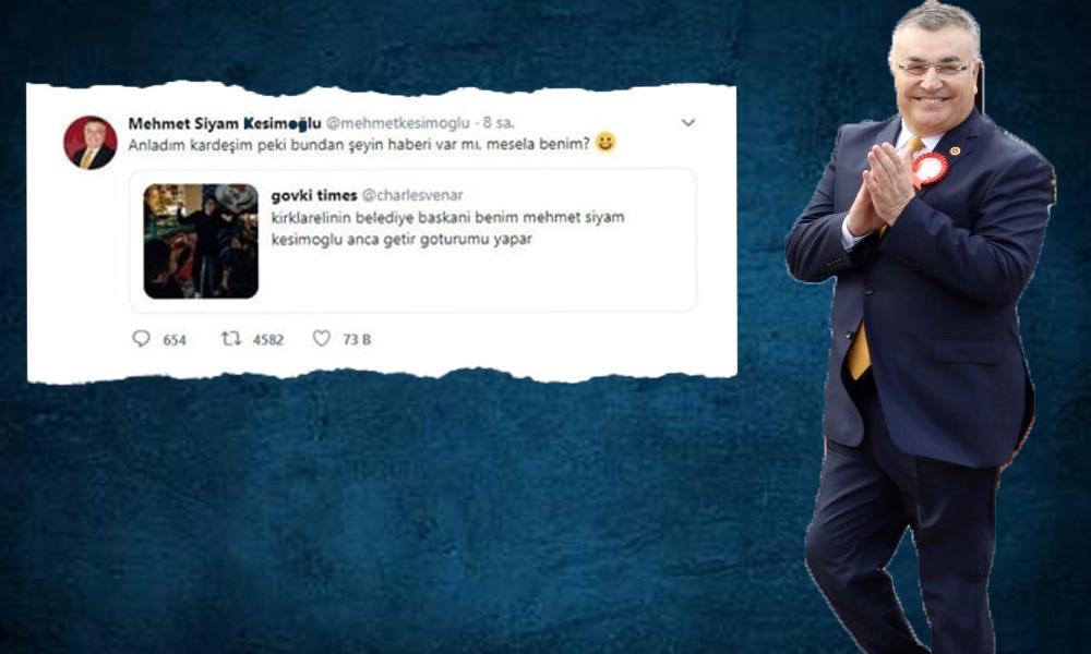 Belediye Başkanı Kesimoğlu'nun 'Anca getir götürümü yapar' diyen gence verdiği yanıt gündem oldu