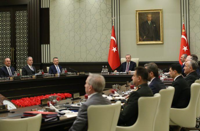 MGK Bildirisi'nde 'Barış Pınarı' vurgusu