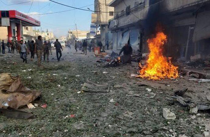 Tel Abyad'da bombalı saldırı! Çok sayıda sivil hayatını kaybetti