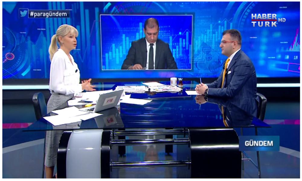 Kripto FETÖ'cü Cem Küçük tehdit ettiği Habertürk TV'ye çıktı, canlı yayında her şey bir anda değişti