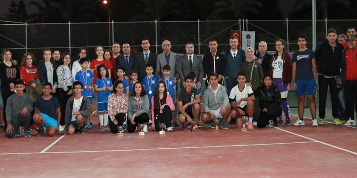 Seyhan Tenis Turnuvası'nın şampiyonları