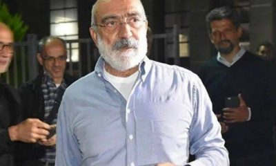 Ahmet Altan tahliye edildi