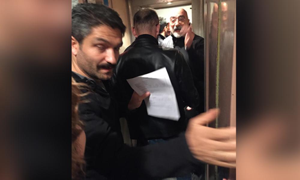 Ahmet Altan, evine gelen polisleri böyle karşıladı: Beni çok güzel yakaladınız