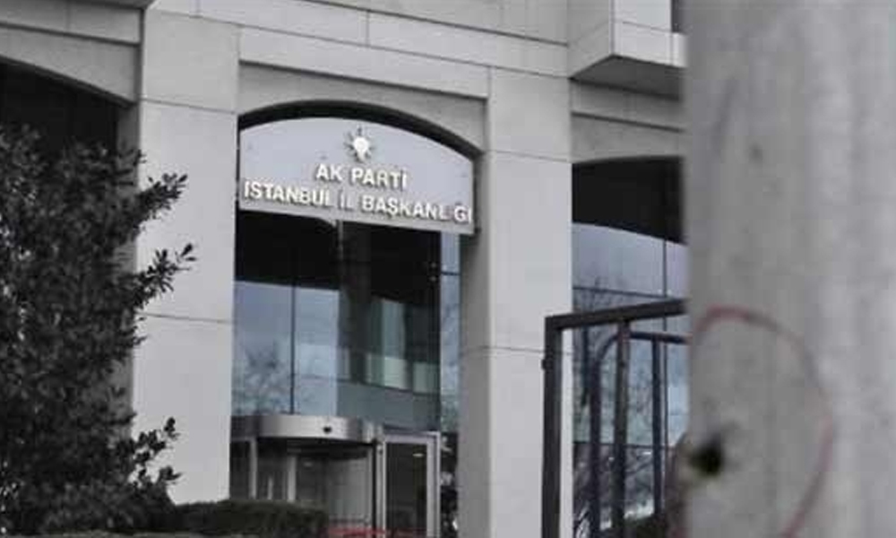 AKP İstanbul İl Teşkilatı'nda üst düzey istifa!
