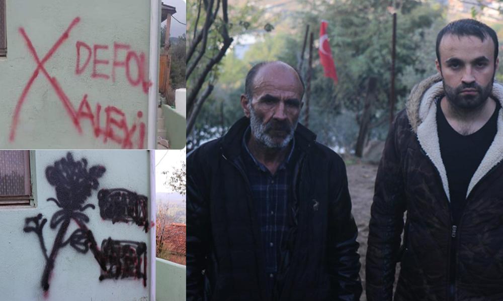 'Defol Alevi' yazısına polis yorumu: Sarhoşların ya da çocukların işidir