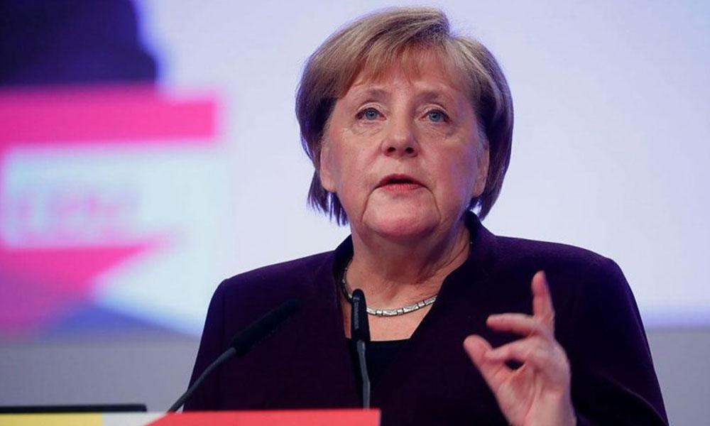 Merkel'in test sonucu belli oldu!