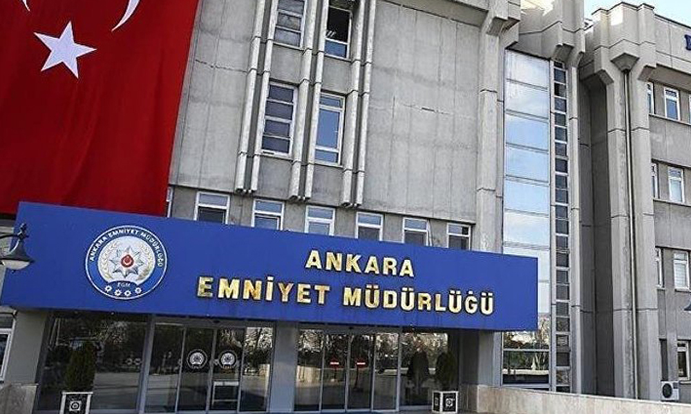 Ankara Emniyeti'nde operasyon: Sekiz polis tutuklandı