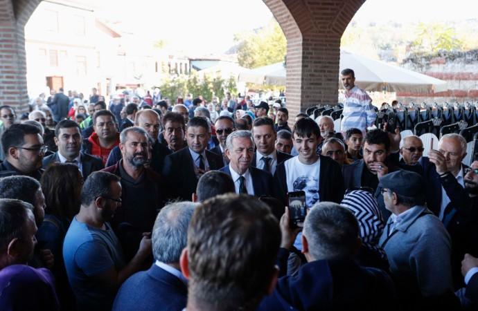 Ankara'da Atatürk için mevlit okutuldu