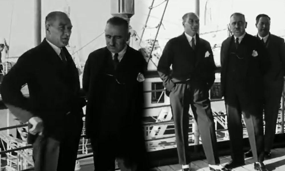 Bakanlık paylaştı: İşte Atatürk'ün bugüne kadar hiç yayınlanmamış görüntüsünü