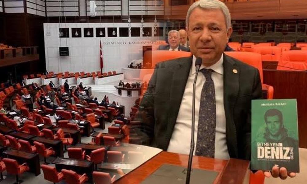 Mustafa Balbay'ın 'Bitmeyen Deniz Gezmiş' kitabı Meclis'e sokulmadı!