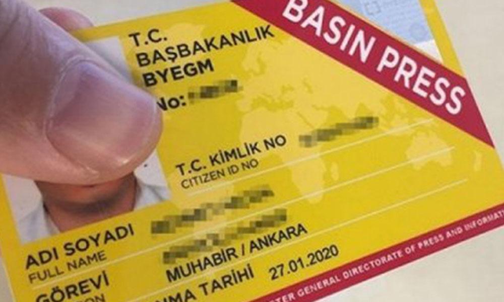 685 gazetecinin basın kartı iptal