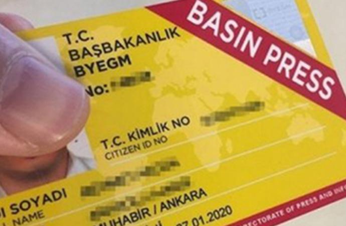685 gazetecinin basın kartı iptal edildi!