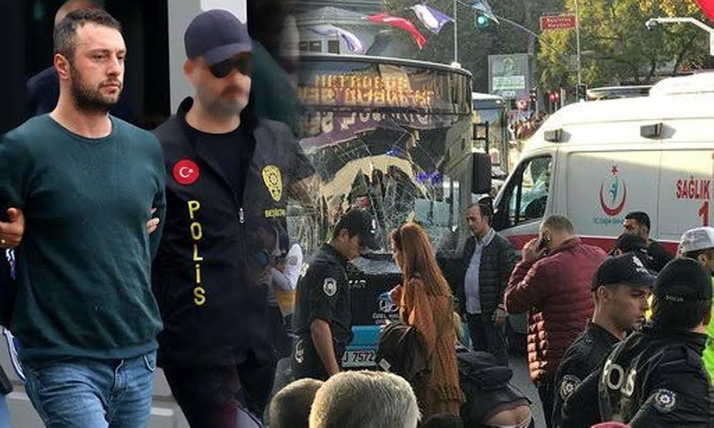 Beşiktaş'ta dehşet saçan otobüs şoförünün ifadesi ortaya çıktı