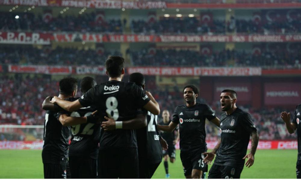 Beşiktaş deplasman fobisine Antalya'da son verdi