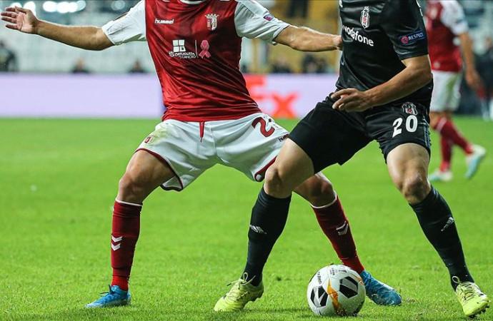 Beşiktaş'ta 6 isim Braga kadrosuna alınmadı!