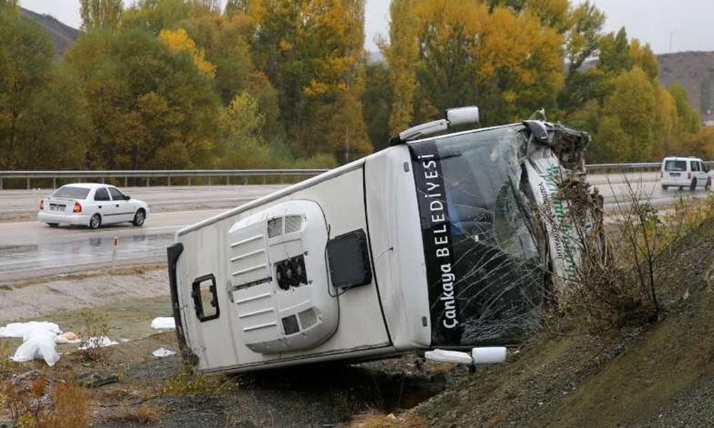 Ankara'da facia gibi kaza! 30 yaralı…