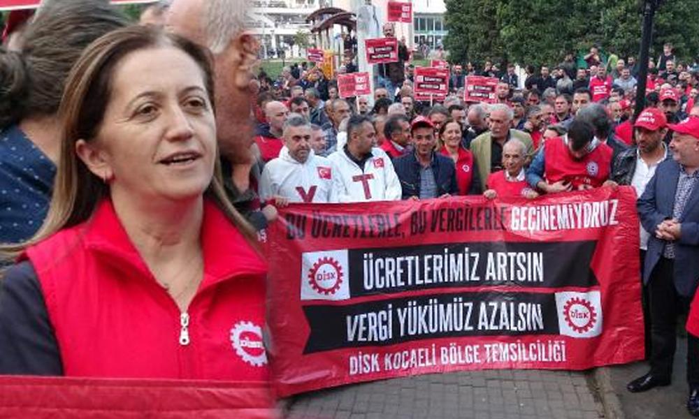"""DİSK Genel Başkanı Çerkezoğlu: """"Yönetenleri gerçekleri görmeye çağırıyoruz"""""""