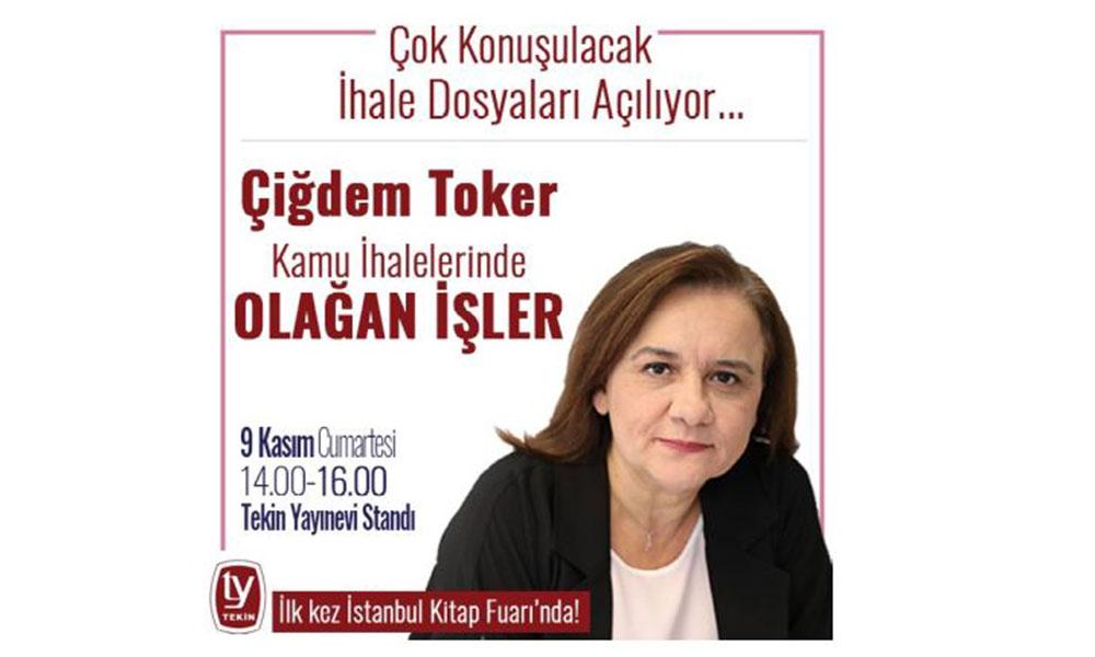 Çiğdem Toker'in yeni kitabı ilk kez İstanbul Kitap Fuarı'nda