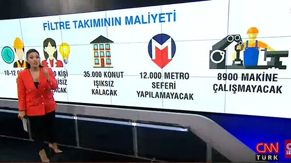 Sosyal medyada CNN Türk yayınına tepki