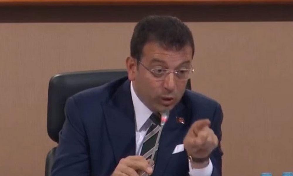 İBB Meclisi'nde 'damat' gerginliği! İmamoğlu'ndan 'Haddini bil' çıkışı