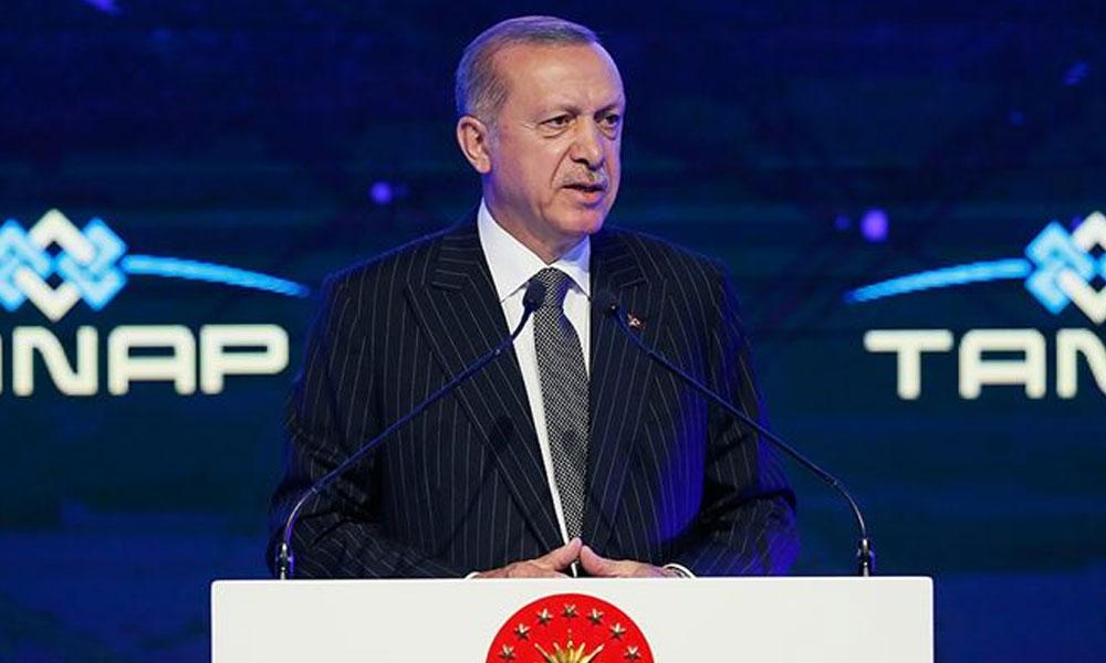 Erdoğan: Bağırmalarıyla biz bu gemilerimizi oradan çekmeyiz