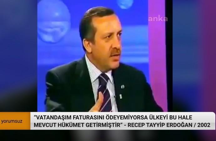 Geçim sıkıntısı intiharı getirdi, BEDAŞ vakit kaybetmeden elektrikleri kesti: Erdoğan 2002 yılında ne söylemişti?