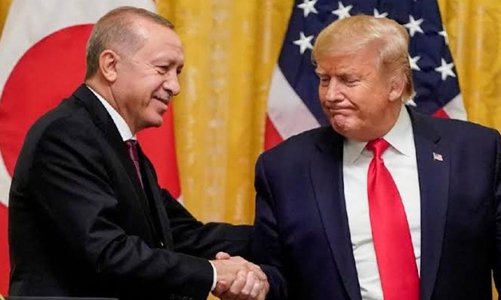 Trump'tan Erdoğan'a Halkbank sözü: Savcılar değişince çözülecek